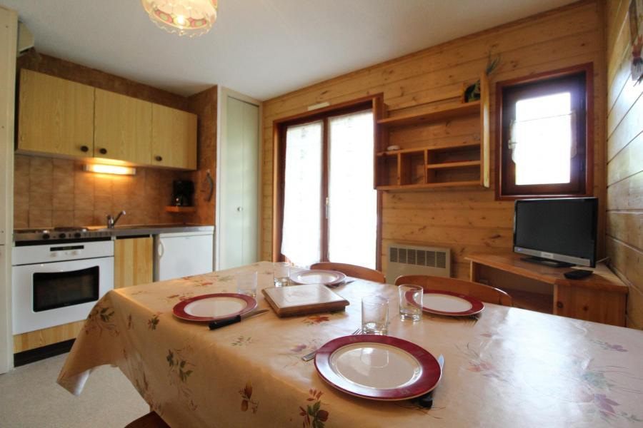 Аренда на лыжном курорте Апартаменты 2 комнат 4 чел. (124) - Résidence Chevallier - Val Cenis - Столова&