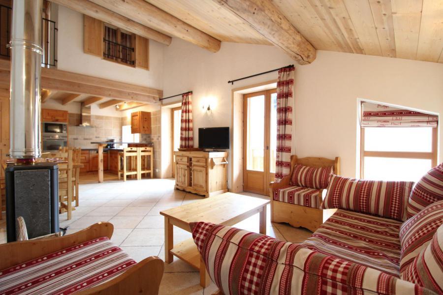Аренда на лыжном курорте Апартаменты 4 комнат с мезонином 10 чел. - Résidence Jorcin Lanslebourg - Val Cenis