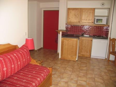 Location au ski Appartement 2 pièces 4 personnes (B05) - Résidence le Bonheur des Pistes - Val Cenis - Kitchenette