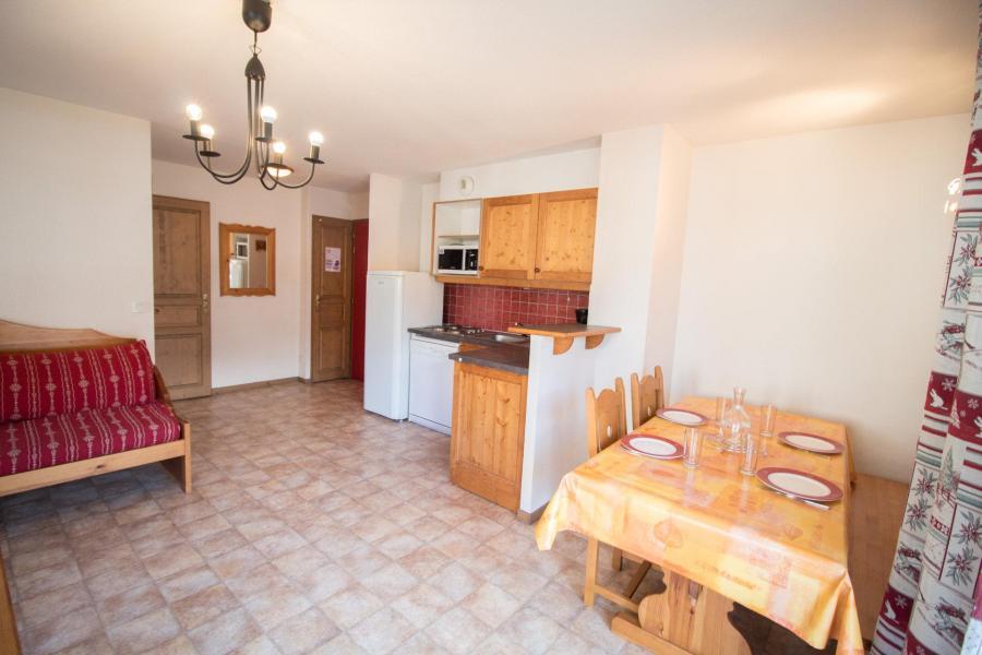 Location au ski Appartement 2 pièces 5 personnes (B03) - Résidence le Bonheur des Pistes - Val Cenis - Table