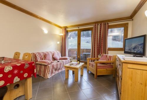 Rent in ski resort 3 room apartment 4-6 people - Residence Le Criterium - Val Cenis - Settee