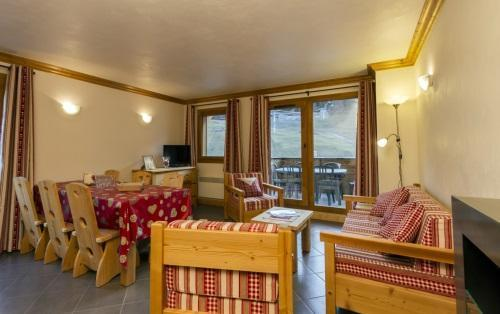 Rent in ski resort 4 room apartment 6 people - Residence Le Criterium - Val Cenis - Window