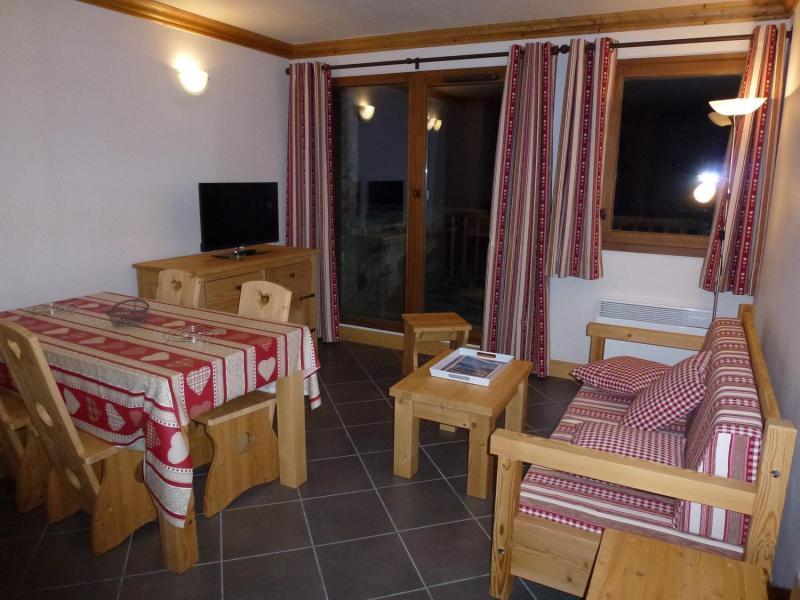 Location au ski Appartement 2 pièces 4 personnes - Résidence le Critérium - Val Cenis - Séjour