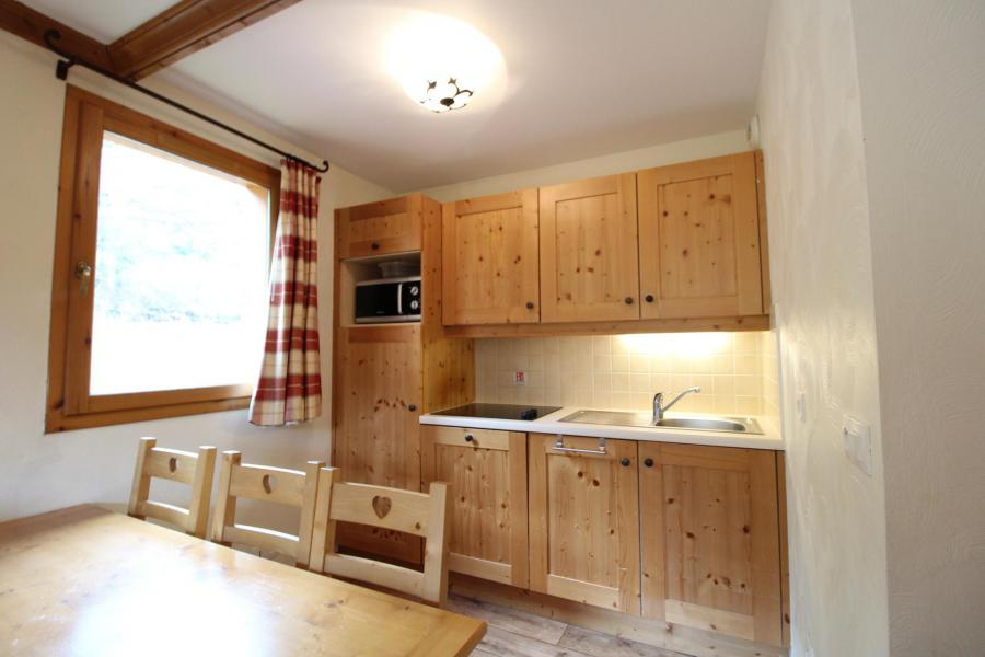 Аренда на лыжном курорте Апартаменты 3 комнат 6 чел. (E122) - Résidence les Alpages - Val Cenis - Небольш&