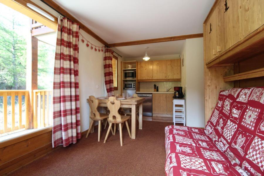 Аренда на лыжном курорте Апартаменты 3 комнат 6 чел. (E222) - Résidence les Alpages - Val Cenis - Небольш&