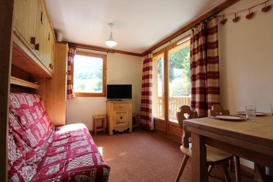 Аренда на лыжном курорте Апартаменты 3 комнат 6 чел. (E222) - Résidence les Alpages - Val Cenis - Салон