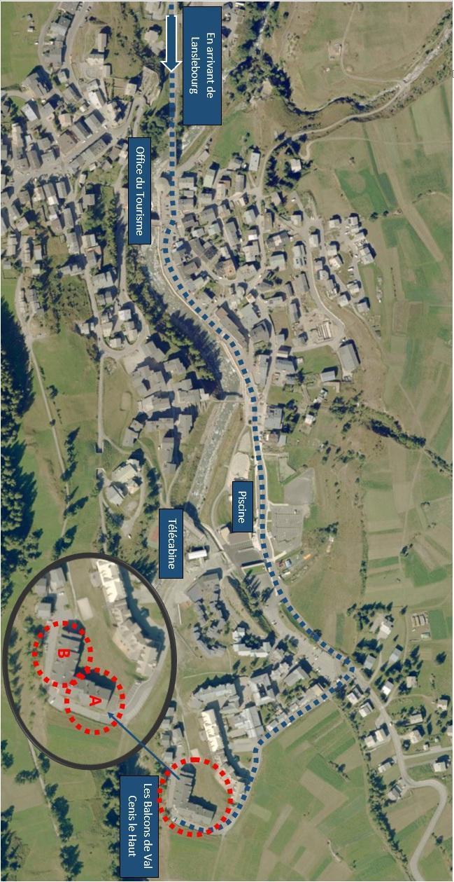 Location au ski Residence Les Balcons De Val Cenis Le Haut - Val Cenis - Extérieur hiver