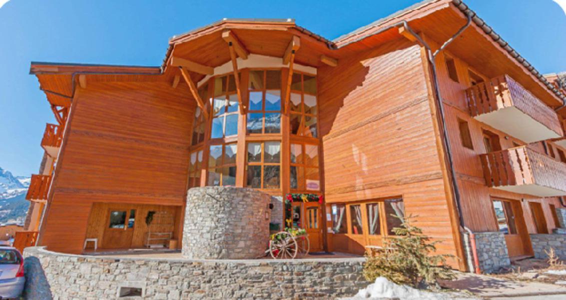 Location au ski Résidence les Balcons de Val Cenis le Haut - Val Cenis - Extérieur hiver