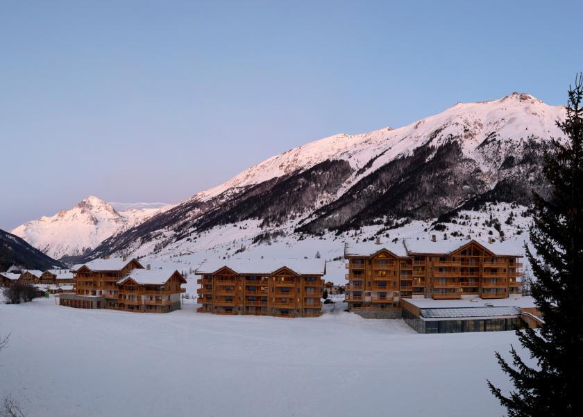 Urlaub in den Bergen Résidence les Chalets de Flambeau - Val Cenis - Draußen im Winter