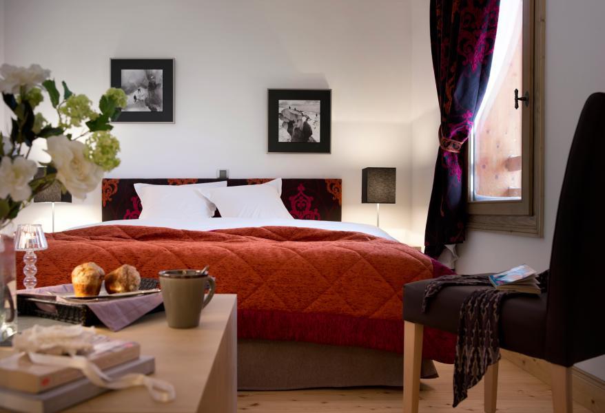 Skiverleih Résidence les Chalets de Flambeau - Val Cenis - Schlafzimmer