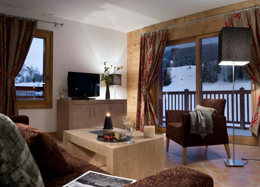 Location au ski Résidence les Chalets de Flambeau - Val Cenis - Séjour