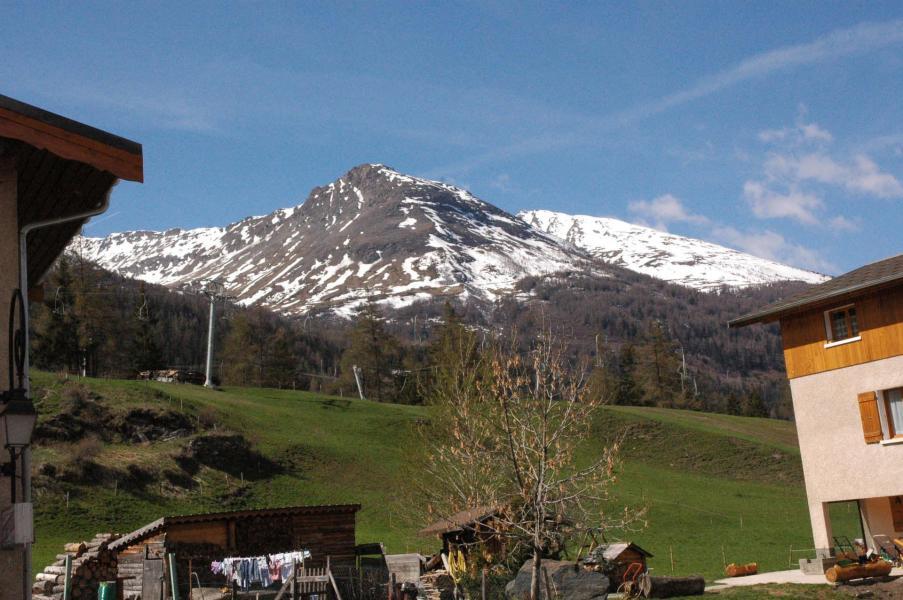 Location au ski Appartement 3 pièces 6 personnes (13) - Residence Les Essarts - Val Cenis - Extérieur hiver