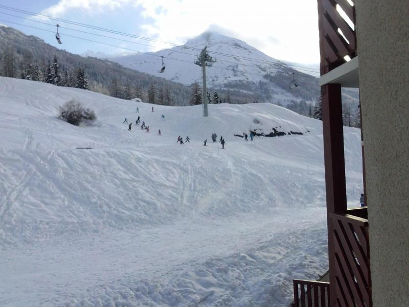 Аренда на лыжном курорте Квартира студия со спальней для 4 чел. (233) - Résidence les Hauts de Val Cenis - Val Cenis - зимой под открытым небом