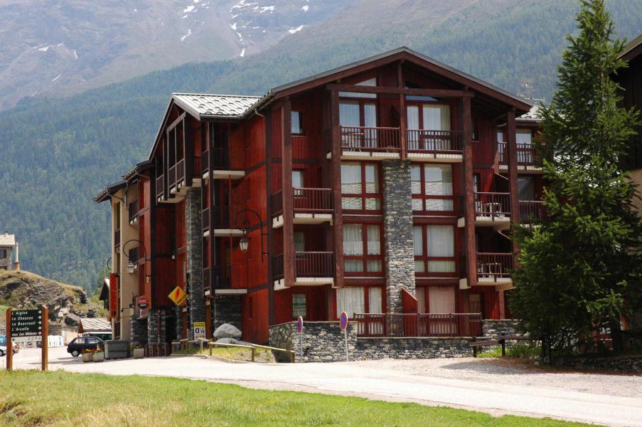 Аренда на лыжном курорте Résidence Pied de Pistes - Val Cenis - зимой под открытым небом