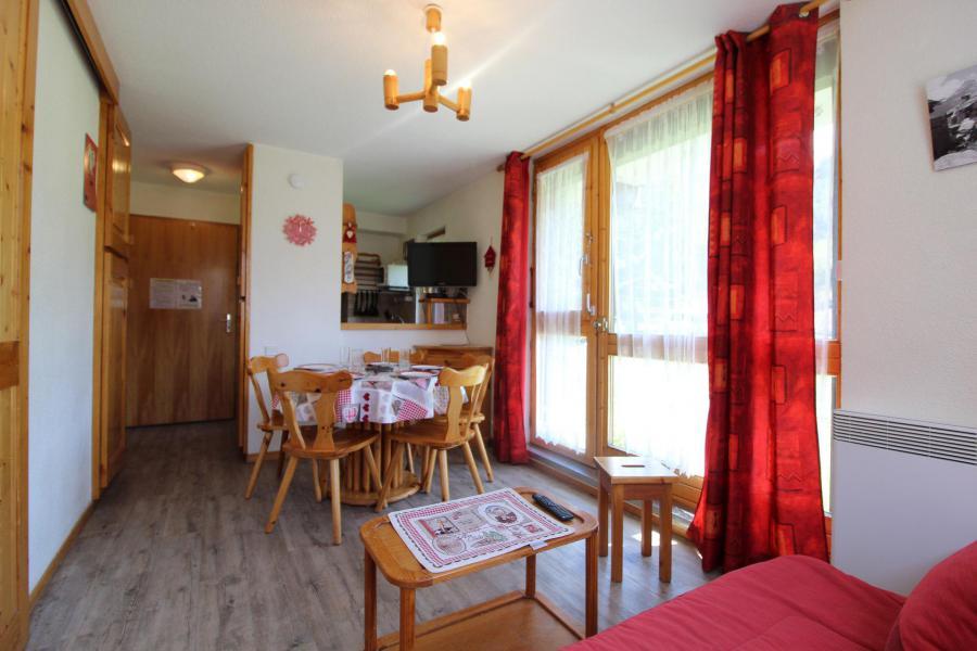 Аренда на лыжном курорте Квартира студия кабина для 4 чел. (A004) - Résidence Pied de Pistes - Val Cenis