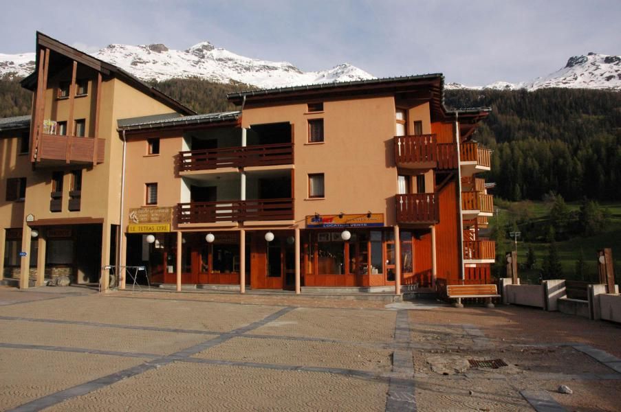 Аренда на лыжном курорте Квартира студия со спальней для 4 чел. (001) - Résidence Prés du Bois - Val Cenis