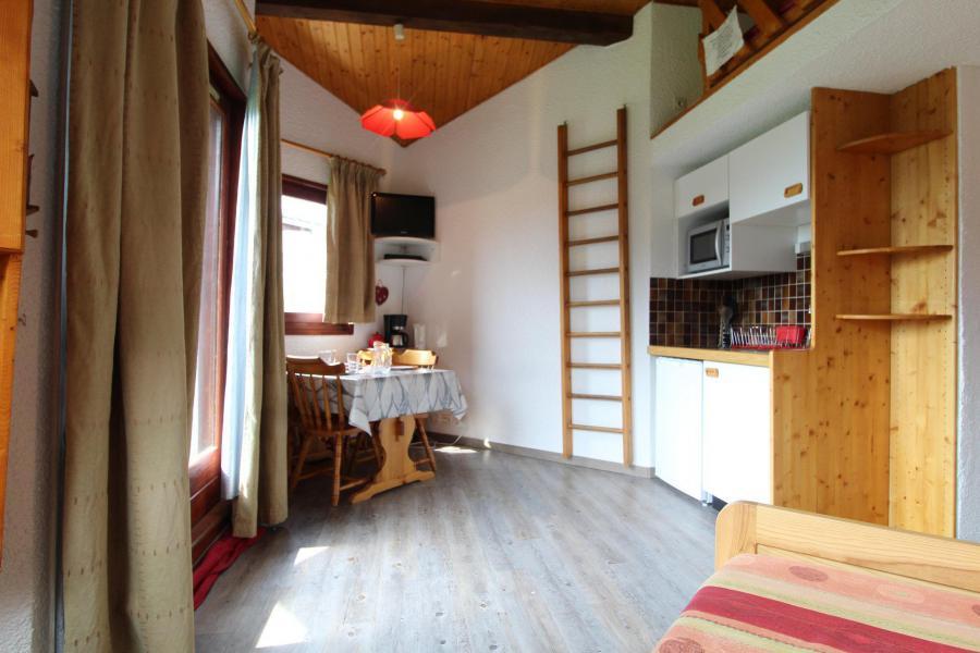 Аренда на лыжном курорте Квартира студия со спальней для 4 чел. (037) - Résidence Prés du Bois - Val Cenis