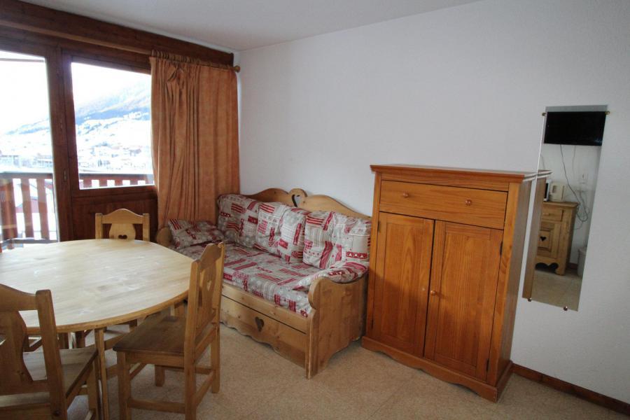 Location au ski Studio coin montagne 3 personnes (010) - Résidence Prés du Bois - Val Cenis - Séjour