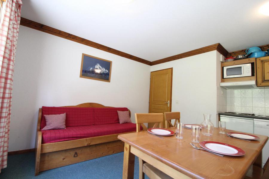 Location au ski Appartement 2 pièces 4 personnes (22) - Résidence Valmonts - Val Cenis - Banquette-lit
