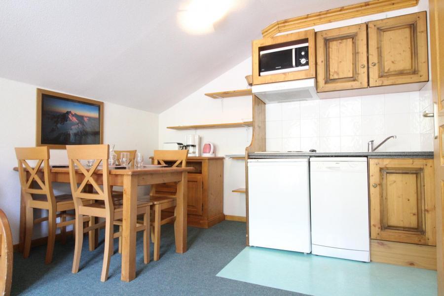 Location au ski Appartement 2 pièces 4 personnes (A21) - Résidence Valmonts - Val Cenis - Cuisine ouverte