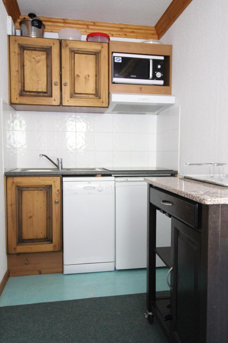 Location au ski Appartement 3 pièces 6 personnes (G22) - Résidence Valmonts - Val Cenis - Kitchenette