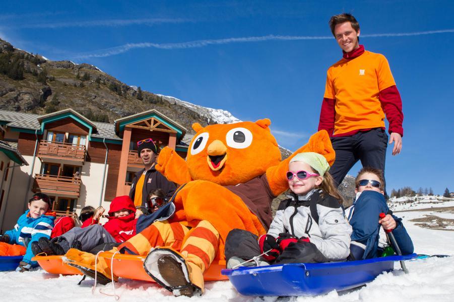 Location au ski VVF Villages le Parc de la Vanoise - Val Cenis - Extérieur hiver