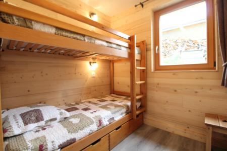 Rent in ski resort 4 room apartment 8 people (006) - Chalet le Saint Valin - Val Cenis - Bunk beds