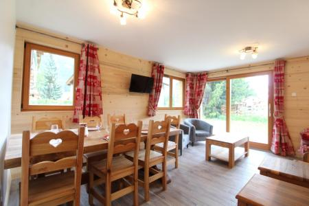 Rent in ski resort 4 room apartment 8 people (006) - Chalet le Saint Valin - Val Cenis - Living room