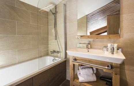 Location 4 personnes Chambre double (communicant) (4 personnes maximum) - Hotel Saint Charles Val Cenis