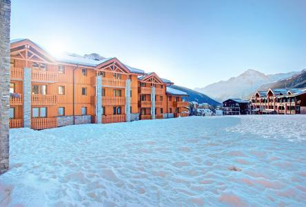 Vacances en montagne Les Balcons de Val Cenis le Haut - Val Cenis - Extérieur hiver