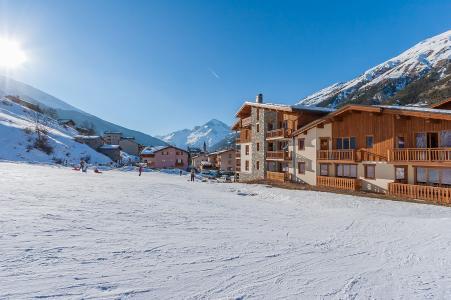 Vacances en montagne Les Balcons de Val Cenis Village - Val Cenis - Extérieur hiver