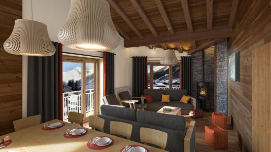 Location au ski Les Balcons Platinium Val Cenis - Val Cenis - Séjour