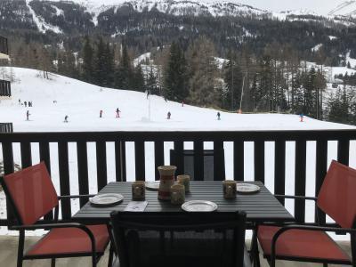 Vacances en montagne Appartement 2 pièces 4 personnes (142) - Résidence Bouvreuil - Val Cenis - Extérieur hiver
