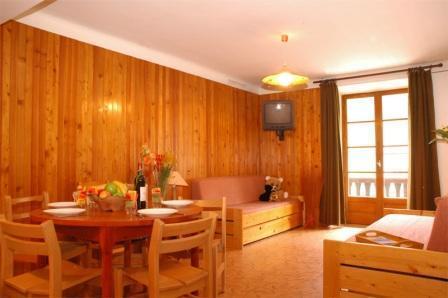 Location au ski Appartement 2 pièces 5 personnes (003) - Residence Jorcin Lanslebourg - Val Cenis - Séjour