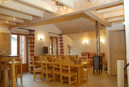 Location au ski Appartement 4 pièces mezzanine 10 personnes - Residence Jorcin Lanslebourg - Val Cenis - Salle à manger