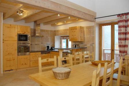 Location au ski Appartement 4 pièces mezzanine 10 personnes - Residence Jorcin Lanslebourg - Val Cenis - Table