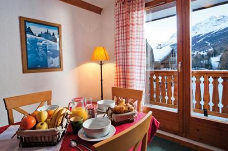 Location au ski Residence Lagrange Les Valmonts De Val Cenis - Val Cenis - Coin repas