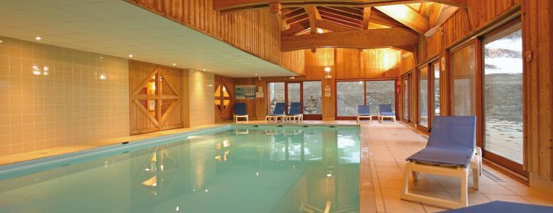 Location au ski Résidence Lagrange les Valmonts de Val Cenis - Val Cenis - Piscine