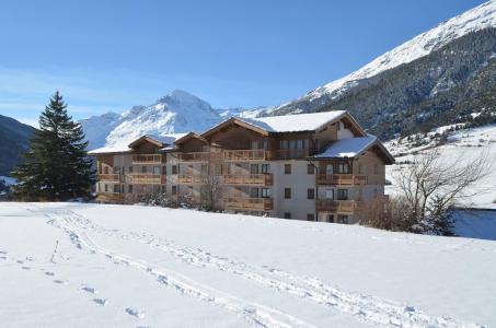 Location au ski Residence Le Bonheur Des Pistes - Val Cenis - Extérieur hiver
