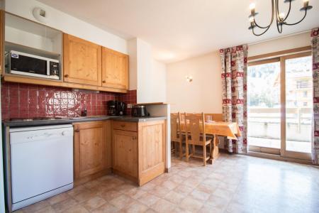 Alquiler al esquí Apartamento 2 piezas para 5 personas (B03) - Résidence le Bonheur des Pistes - Val Cenis - Cocina