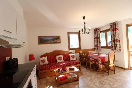 Alquiler al esquí Apartamento 3 piezas para 6 personas (B15) - Résidence le Bonheur des Pistes - Val Cenis - Comedor