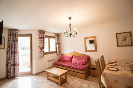 Location au ski Appartement 2 pièces 4 personnes (B05) - Résidence le Bonheur des Pistes - Val Cenis - Salle à manger