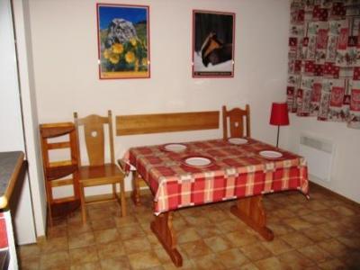 Location au ski Appartement 2 pièces 4 personnes (B20) - Residence Le Bonheur Des Pistes - Val Cenis - Table