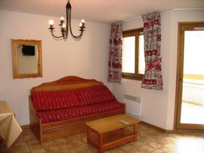Location au ski Appartement 3 pièces 6 personnes (A62) - Residence Le Bonheur Des Pistes - Val Cenis - Canapé