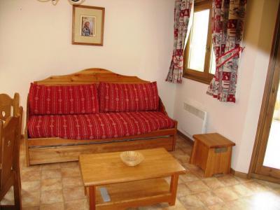 Location au ski Appartement 3 pièces 6 personnes (A63) - Residence Le Bonheur Des Pistes - Val Cenis - Canapé