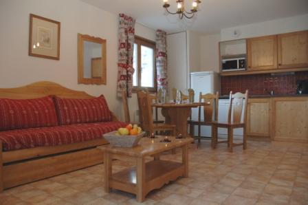 Location au ski Appartement 3 pièces 6 personnes (A64) - Residence Le Bonheur Des Pistes - Val Cenis - Séjour