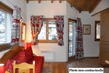 Location au ski Appartement 3 pièces 6 personnes (A65) - Residence Le Bonheur Des Pistes - Val Cenis - Séjour