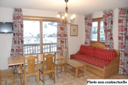 Location au ski Appartement 3 pièces 6 personnes (A65) - Residence Le Bonheur Des Pistes - Val Cenis - Table