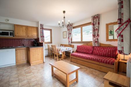 Location au ski Appartement 3 pièces 6 personnes (A72) - Résidence le Bonheur des Pistes - Val Cenis - Banquette-lit
