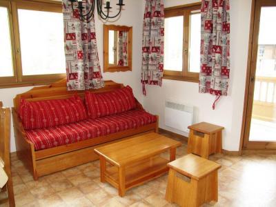 Location au ski Appartement 3 pièces 6 personnes (A72) - Residence Le Bonheur Des Pistes - Val Cenis - Canapé